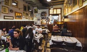 Rome's Armando Al Pantheon restaurant