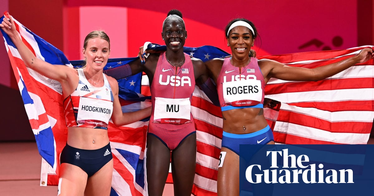 Athing Mu races to gold in women's 800m as Keely Hodgkinson takes silver