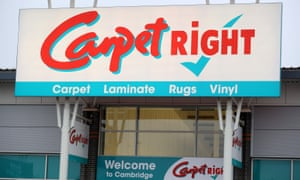 Carpetright sign