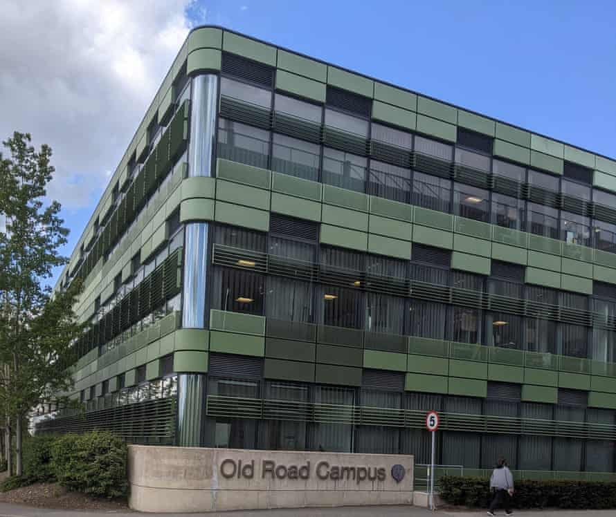 The Old Road Campus Research building, which houses institutes, including the Jenner, working on a variety of research, from cancer to tropical medicine.