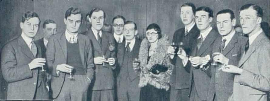 Gertrude Trevelyan (centre) with the other contributors to Red Rags: Essays of Hate from Oxford, a book of anti-communist essays, photographed for the Bystander in March 1933.