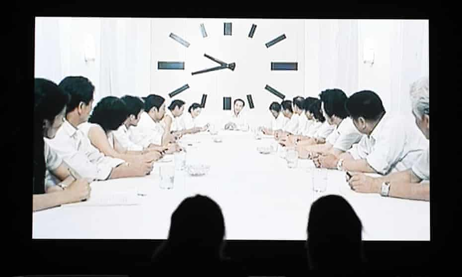 The Clock by Christian Marclay at Tate Modern.