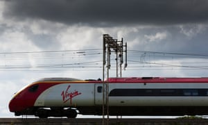 A Virgin Trains west coast mainline service between Manchester Piccadilly and London Euston.