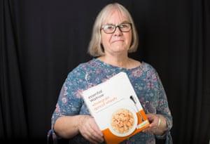Food bank volunteer Eileen Whitehorn