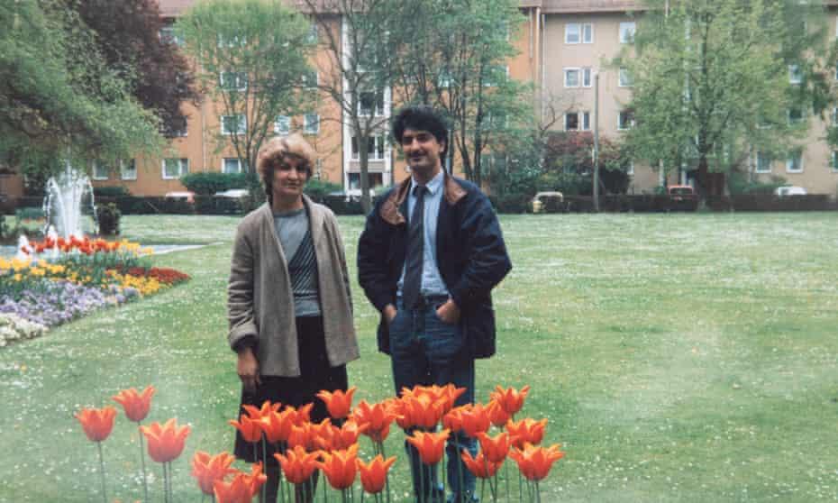 Fazard Bazoft and his mother, Nosrat
