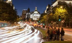 Central Madrid.
