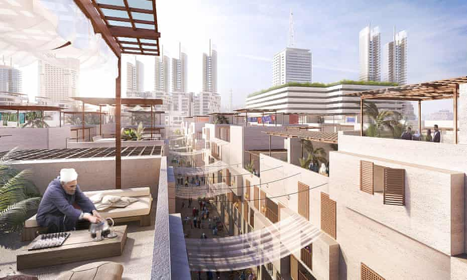 Renowned British architects Foster + Partners have won a competition to design the Maspero Triangle district in downtown Cairo.