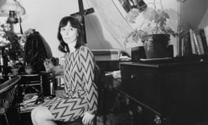 The novelist Beryl Bainbridge, at home, May 1967.