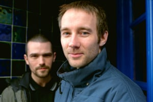 Autechre pictured in 2001.