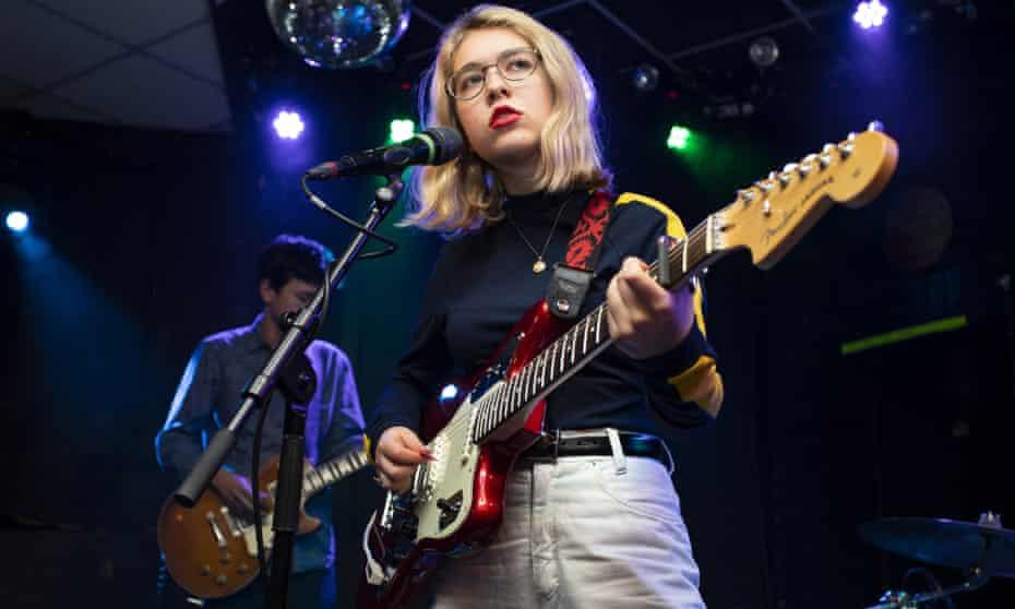 Lindsey Jordan of Snail Mail performs at Brudenell Social Club, Leeds, 2018.