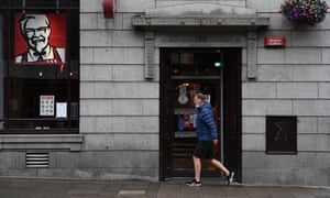 Pubs and restaurants were told to close to try to curb the spread of the virus