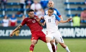 Alejandro Bedoya and Michael Bradley could make up two of Klinsmann's midfield three.