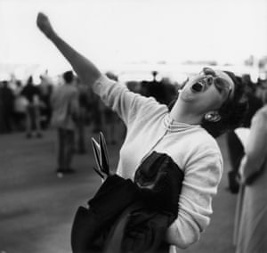 Bay Meadows Racetrack, CA 1945