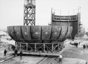 Bottom half of dome