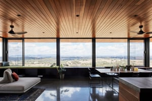 The interior of Elemental House by Ben Callery Architecture.