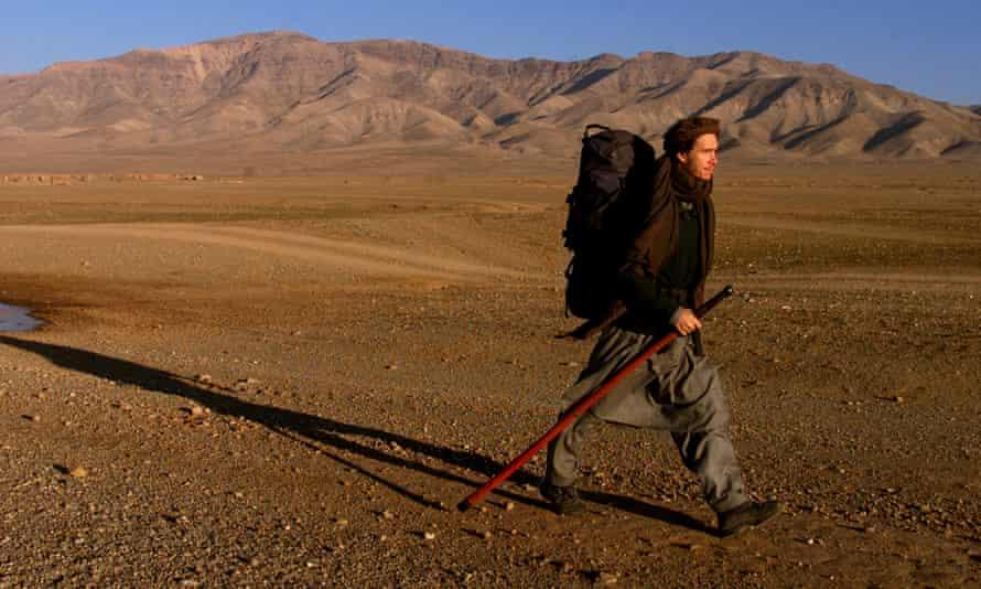 Rory Stewart on his trek across northern Afghanistan in 2002.