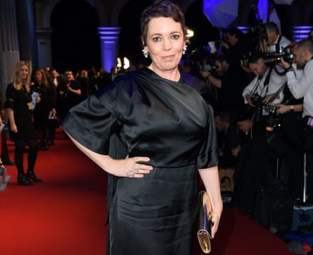 Colman at the BIFA awards, where The Favourite scooped 10 prizes.