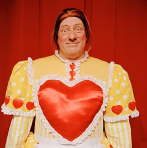 Berwick Kaler as an ugly sister in Cinderella, 2006