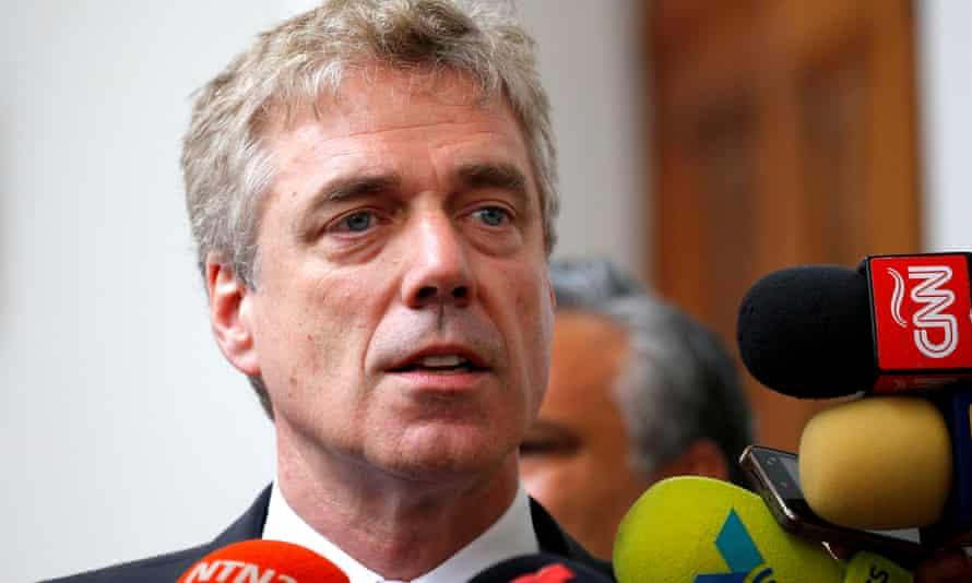 German ambassador to Venezuela Daniel Kriener.