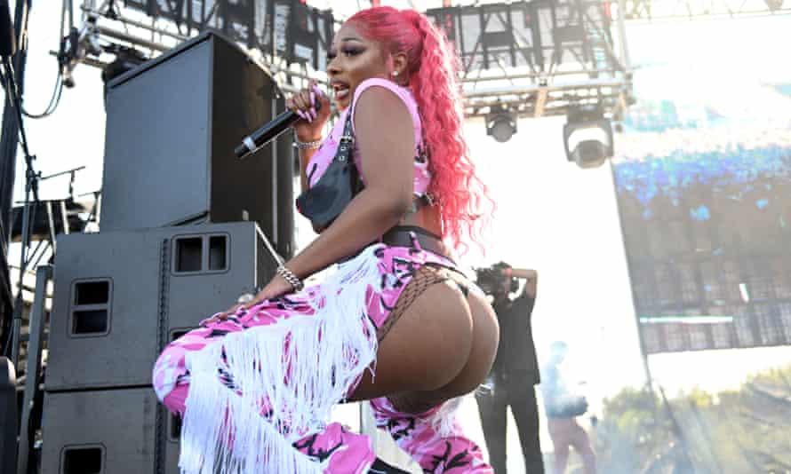 Rapper Megan Thee Stallion