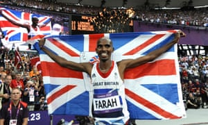 Mo Farah of Team GB wins Gold in the Men's 5000m final.