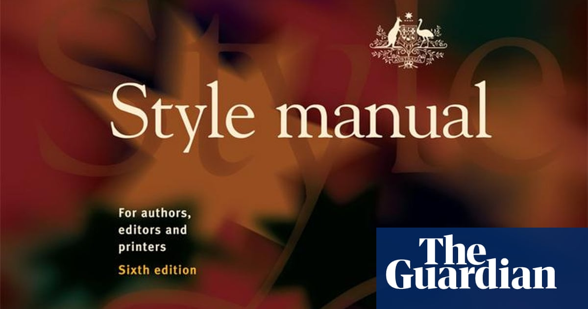 'Out of control': Australia has a new style manual, but not everyone is happy