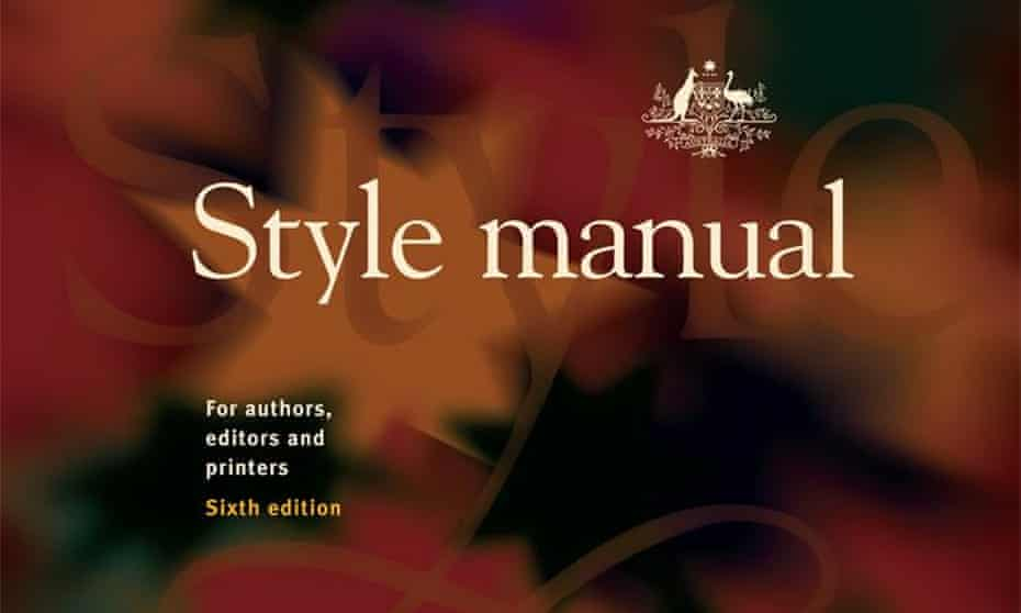 Commonwealth Style Manual