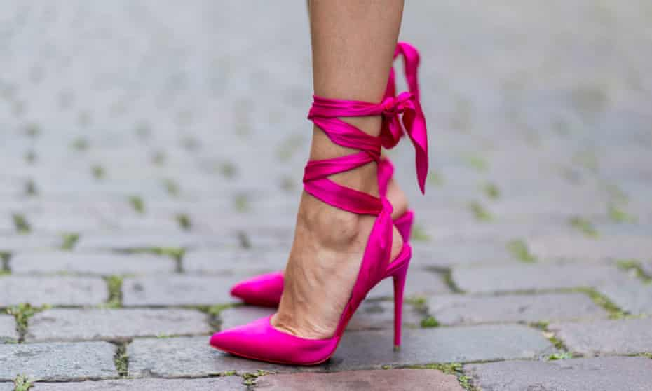 'Heels made me feel powerful in a womanly way.'