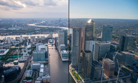 Aerial views of London: then and now – in pictures