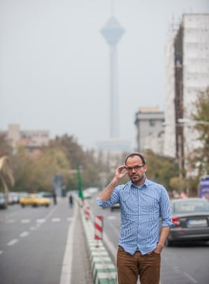 Derakhshan on the street