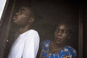 Kinshasa, Democratic Republic of the CongoCatholics hide inside their church after taking part in a demonstration calling for President Joseph Kabila to step down.