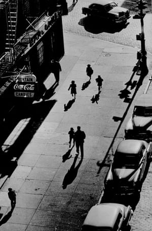 125th Street From Elevated Train, 1950