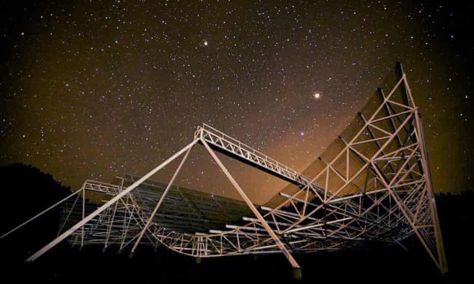 The Chime radio telescope in Canada