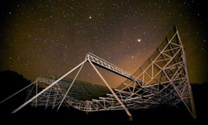 The Chime radio telescope detected mysterious signals.
