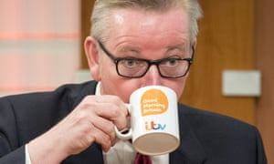 Michael Gove on ITV's Good Morning Britain this morning.