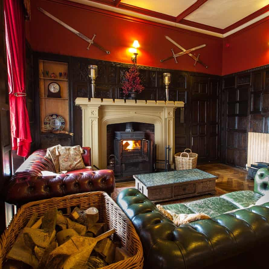 Where the hearth is: Augill Castle, Kirkby Stephen, Cumbria