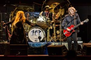 Fleetwood Mac at RAC Arena, Perth, in August 2019.