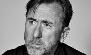Tim Roth in black and white