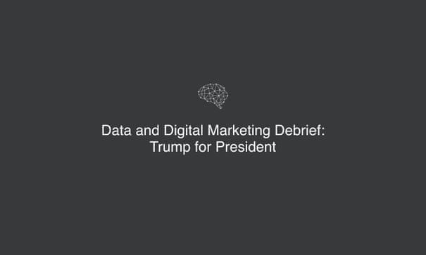 Leaked: Cambridge Analytica's blueprint for Trump victory   UK news