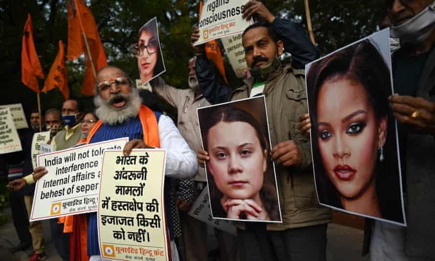 United Hindu Front demonstration