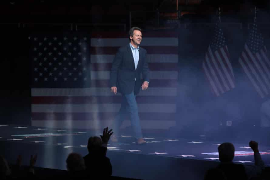 Steve Bullock of Montana, one of the Democrats' brightest prospects to flip a Senate seat, pictured last year during his unsuccessful run for the presidential nomination.