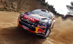Sébastien Loeb Rally Evo.