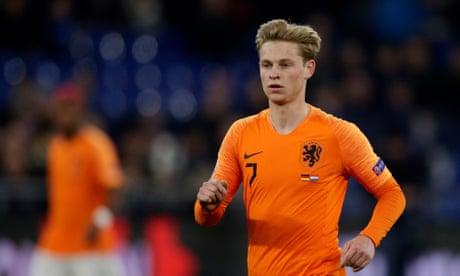 Frenkie de Jong to join Barcelona in €75m summer transfer from Ajax