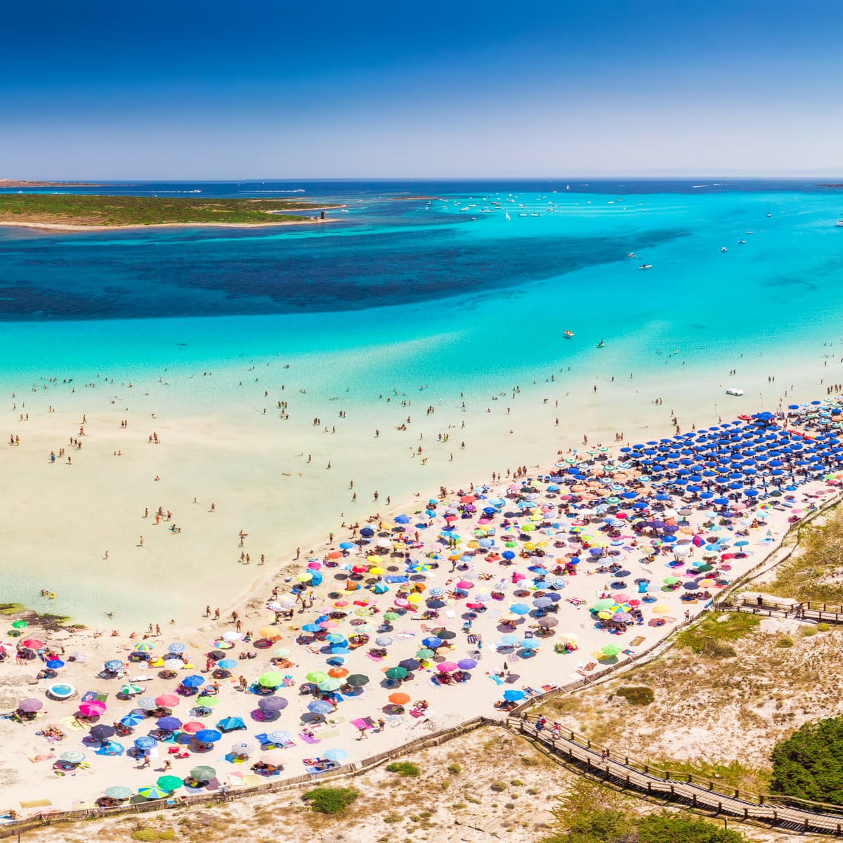 Heavenly' Italian beach to charge entry fee to cut overcrowding ...