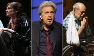 Julia Roberts in Three Days of Rain, Al Pacino in China Doll, Bruce Willis in Misery.