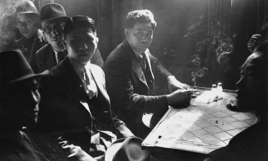 Chinese seamen at a hostel in Liverpool in May 1942.
