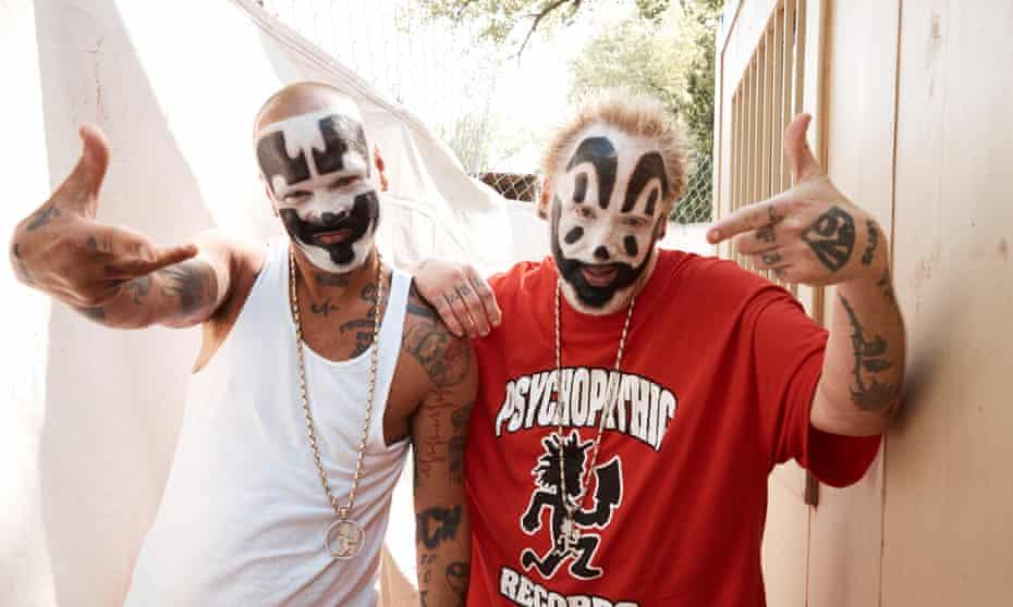 Shaggy 2 Dope (Joseph Utsler) and Violent J (Joseph Bruce) of the Insane Clown Posse.