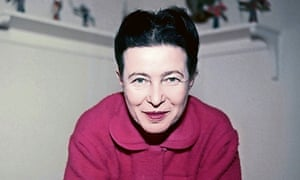 Simone de Beauvoir. Photograph: Rex