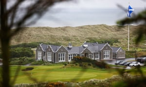 The clubhouse at Trump Aberdeen.