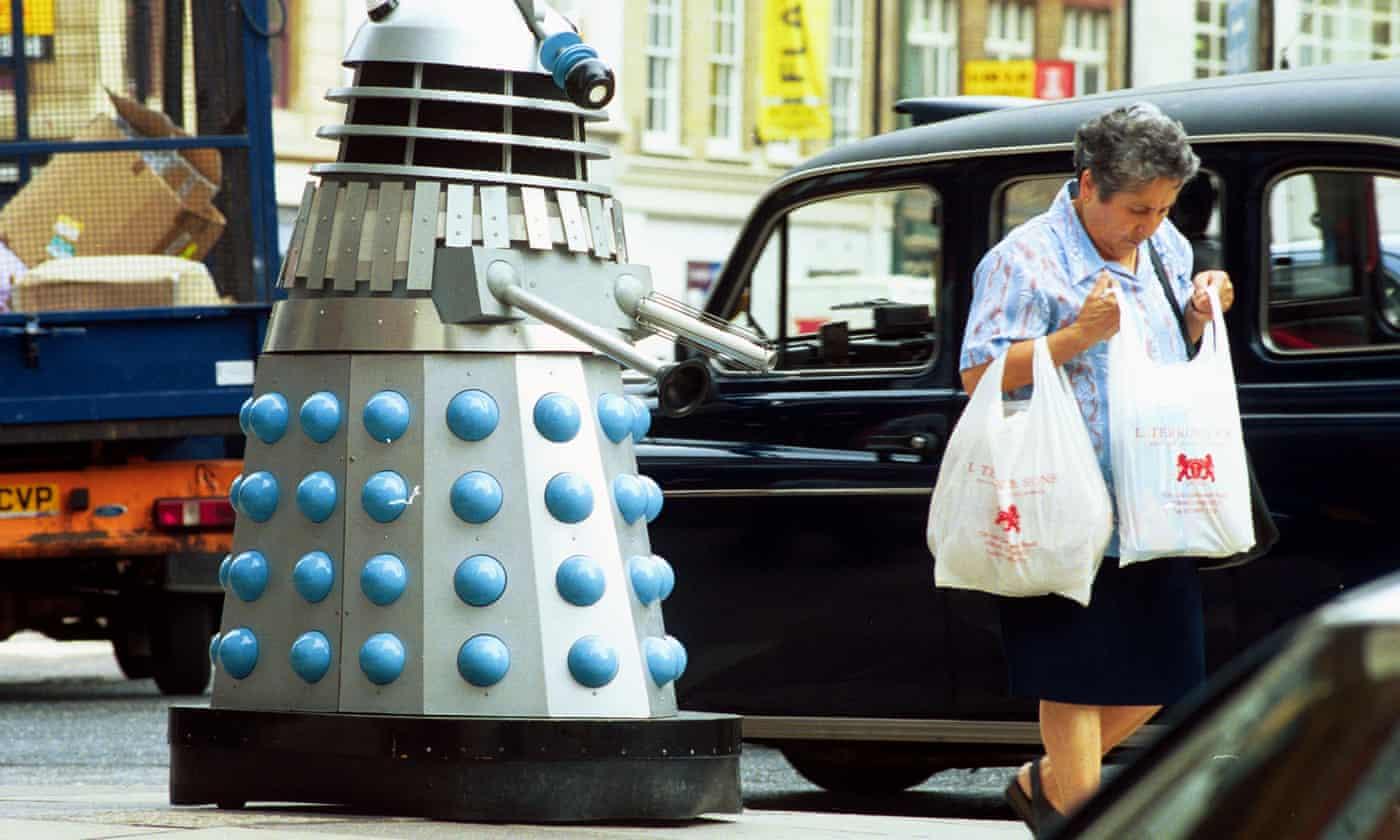 'Self-isolate': Dalek surprises residents of UK fishing village